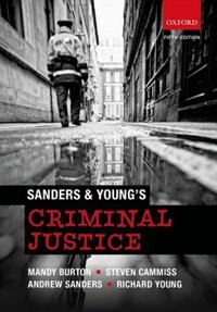 Book Sanders and Youngs Criminal Justice by Mandy Burton