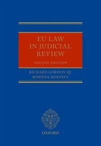 Book EU Law in Judicial Review by Richard Gordon