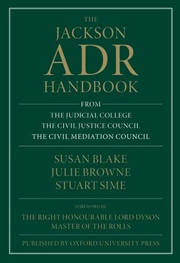 Book The Jackson ADR Handbook by Susan Blake