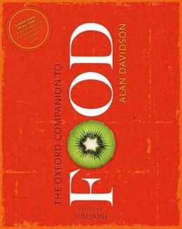 Book The Oxford Companion to Food by Alan Davidson