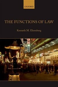 Book The Functions of Law by Kenneth M. Ehrenberg