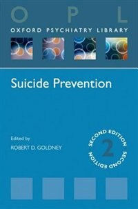 Book Suicide Prevention by Robert D. Goldney