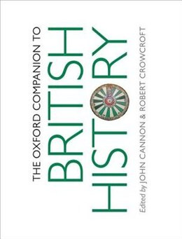 Book The Oxford Companion to British History by John Cannon