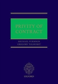 Book Privity of Contract by Michael Furmston