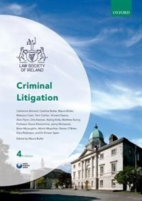 Book Criminal Litigation by Maura Butler
