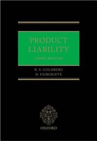 Book Product Liability by Duncan Fairgrieve