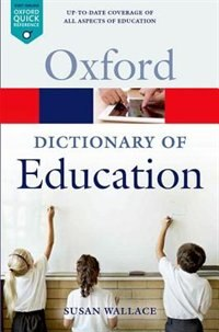 Book A Dictionary of Education by Susan Wallace