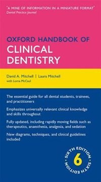 Book Oxford Handbook of Clinical Dentistry by Laura Mitchell