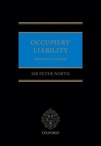Book Occupiers Liability by Peter North
