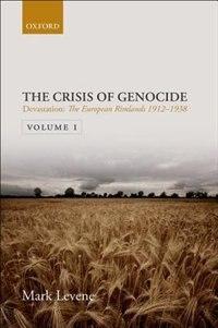 Book Devastation: Volume I: The European Rimlands 1912-1938 by Mark Levene