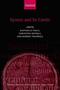 Book Syntax and its Limits by Raffaella Folli