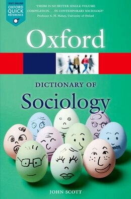 Book A Dictionary of Sociology by John Scott