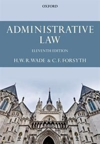 Book Administrative Law by Christopher Forsyth
