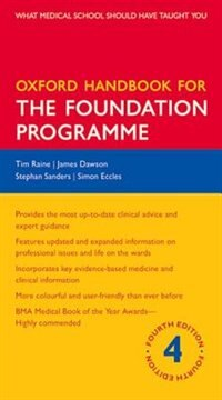 Book Oxford Handbook for the Foundation Programme by Tim Raine