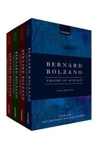 Book Bernard Bolzano: Theory of Science: 4 Volume Pack by Bernard Bolzano
