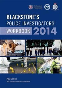 Blackstones Police Investigators Workbook 2014