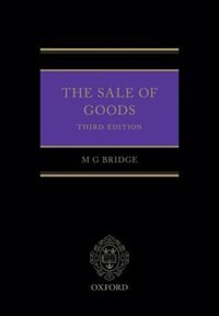 Book Sale of Goods by Michael Bridge