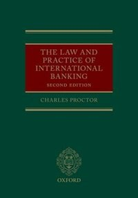 Book The Law and Practice of International Banking by Charles Proctor