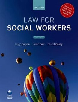 Book Law for Social Workers by Hugh Brayne