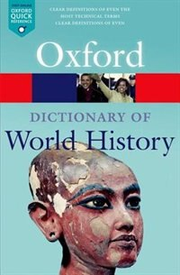 Book A Dictionary of World History by Anne Kerr