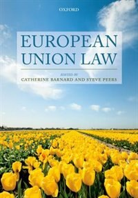 Book European Union Law by Catherine Barnard