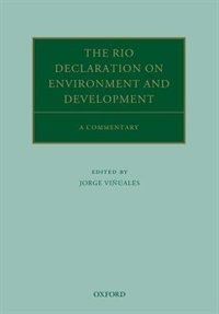Book The Rio Declaration on Environment and Development: A Commentary by Jorge E. Vinuales