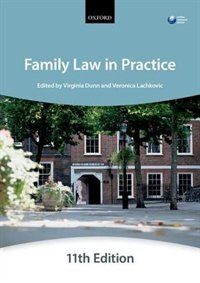 Book Family Law in Practice by The City Law School