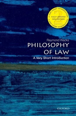 Book Philosophy of Law: A Very Short Introduction by Raymond Wacks