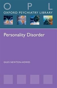 Book Personality Disorder by Giles Newton-Howes