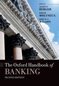 Book The Oxford Handbook of Banking by Allen N. Berger