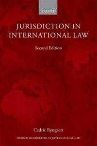 Book Jurisdiction in International Law by Cedric Ryngaert