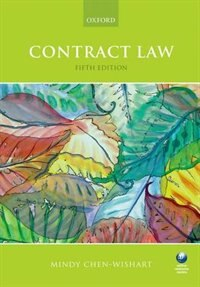 Book Contract Law by Mindy Chen-Wishart