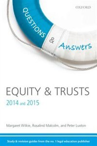 Book Q and A Revision Guide Equity and Trusts 2014 and 2015 by Margaret Wilkie
