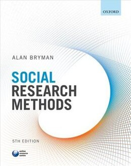 Book Social Research Methods by Alan Bryman