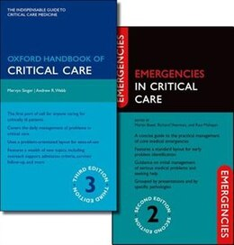 Book Oxford Handbook of Critical Care Third Edition and Emergencies in Critical Care Second Edition Pack by Mervyn Singer