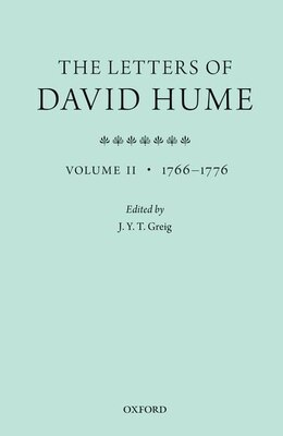 Book The Letters of David Hume: Volume 2 by J. Y. T. Greig