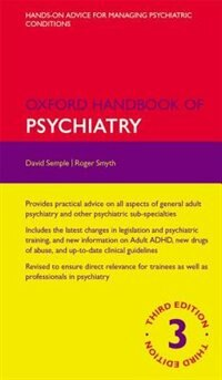Book Oxford Handbook of Psychiatry by David Semple