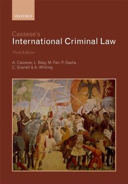 Book Casseses International Criminal Law by Antonio Cassese