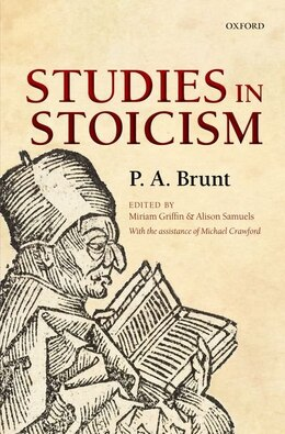 Book Studies in Stoicism by P. A. Brunt