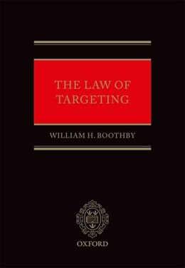 Book The Law of Targeting by William H. Boothby