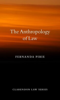 Book Anthropology of Law by Fernanda Pirie