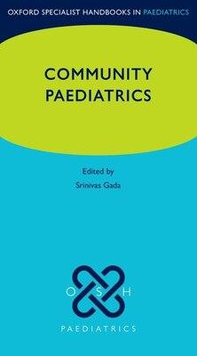 Book Community Paediatrics by Srinivas Gada
