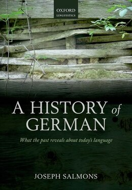Book A History of German by Joseph Salmons