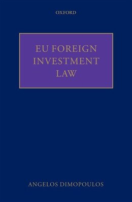Book EU Foreign Investment Law by Angelos Dimopoulos