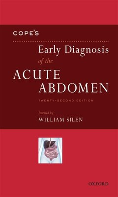Book Copes Early Diagnosis of the Acute Abdomen by William Silen