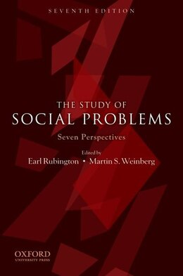 Book The Study of Social Problems: Seven Perspectives by Earl Rubington