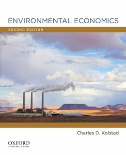 Book Environmental Economics by Charles D. Kolstad