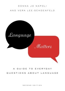 Book Language Matters: A Guide to Everyday Questions About Language by Donna Jo Napoli