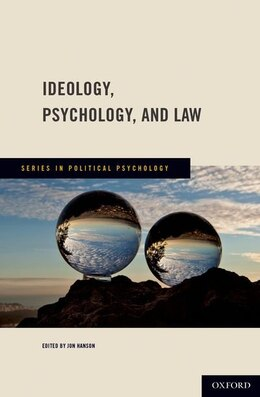 Book Ideology, Psychology, and Law by Jon Hanson