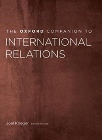 Book The Oxford Companion to International Relations by Joel Krieger